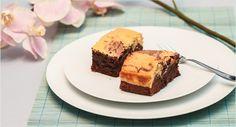 Backen macht glücklich   Chocolate-Cheesecake-Brownies – BlackandWhite   http://www.backenmachtgluecklich.de