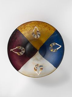 Roman Glass garland bowl - late 1st century BC