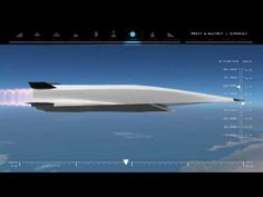 From London to New York in one hour: hypersonic flight.