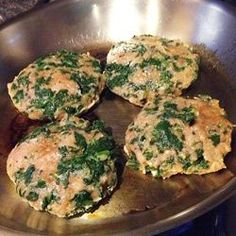 Spinach Taco Burgers