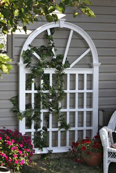 """""""Vienna Trellis"""" by New England Arbors from USA Exterior"""