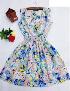 Dámské letní šaty lehké květiny – Velikost L Na tento produkt se vztahuje nejen zajímavá sleva, ale také poštovné zdarma! Využij této výhodné nabídky a ušetři na poštovném, stejně jako to udělalo již velké množství …