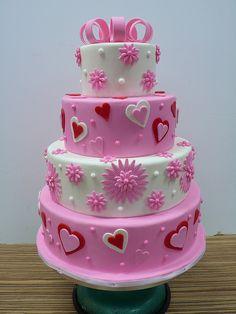 Fun cake for Stella's birthday! Love it!!