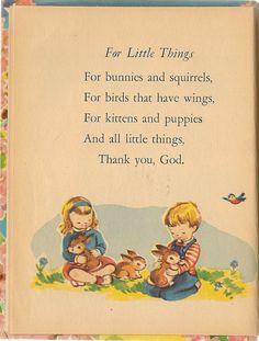 VINTAGE KIDS BOOK My Prayer Book A Rand McNally by HazelCatkins
