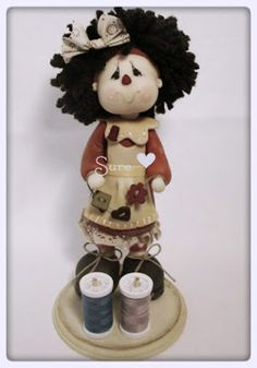 Country Doll, Porcelana Fría.