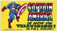 The 1966 Grantray-Lawrence Marvel show. Comic Book Superheroes, Marvel Comic Books, Comic Book Heroes, Ride Captain Ride, Captain America Art, Marvel Show, Dusk Till Dawn, Retro Pop, Tv Land