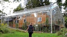Swedish Couple Built a Greenhouse Around Their Home