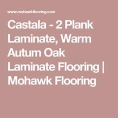 Castala - 2 Plank Laminate, Warm Autum Oak Laminate Flooring | Mohawk Flooring