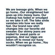 teenage girl quote