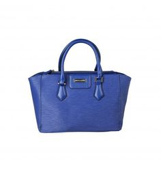 PIERRE CARDIN Blue Handbag - MyaBelle - 1 Pierre Cardin, Blue Handbags, Kate Spade, Collection, Women, Fashion, Boutique Online Shopping, Moda, Blue Tote Bags