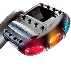 The Pedalite ($70) is an illuminated bike pedal that makes you visible. The best part is that the Pedalite pedals use no batteries — each has a tiny gear generator and energy storage capacitor that charges while you pedal. They'll even continue to flash for up to 12 minutes after you stop pedaling.