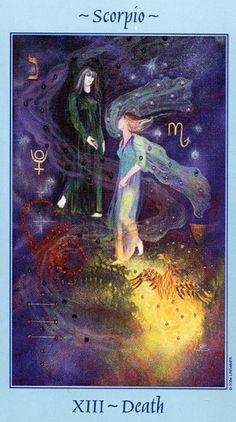 Death - Scorpio - Celestial tarot