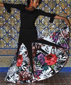 7243373be Las 42 mejores imágenes de Faldas Baile Flamenco | Flamenco skirts ...
