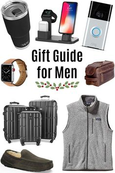 When I asked who you guys have the hardest time shopping for, the men by far took the lead. I hope this year's Gift Guide for Men is a helpful resource for Presents For Boyfriend, Christmas Gifts For Boyfriend, Christmas Gift For You, Presents For Men, Boyfriend Gifts, Christmas Stocking, Christmas Holidays, Gifts For College Boys, Tech Gifts For Men
