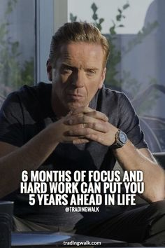 6 Months Of Focus And Hard Work Can Put You 5 Years Ahead In Life You can achieve more than you think in Forex trading with focus and hard / smart work. Wise Quotes, Success Quotes, Great Quotes, Quotes To Live By, Motivational Quotes, Inspirational Quotes, Business Motivation, Business Quotes, Life Motivation