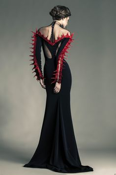 Jean Louis Sabaji Haute Couture... A bit strange but I kinda like it...