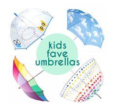 Top kids umbrellas – cool modern umbrellas – kids rain gear | Small for Big