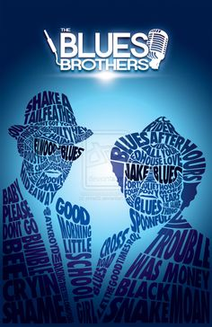 Blues Brothers poster by chris02.deviantart.com