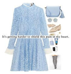 """Civil"" by itsmrscurry ❤ liked on Polyvore featuring Topshop Unique, Kate Spade, Le Specs, Nicholas Kirkwood, Kendra Scott, Marc Jacobs, AERIN, ASOS and Justin Bieber"