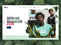 Love this retro collection from Fila so fancied doing a landing page for the range. More from us: → The Team → Twitter → Instagram → Facebook
