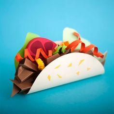 Paper art food Created by Maria Laura Benavente