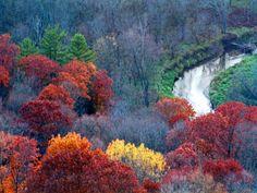 Creek/river in Wildcat Mountain State Park, SW Wisconsin