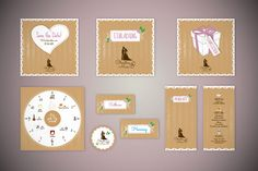 Wedding stationary | Wedding design | Wedding logo | Hochzeitsdesign | Heiraten    #wedding #heiraten Get your own special Wedding stationery. A day to remember.   Check out my website:  http://www.dy-grafikdesign.de/hochzeitsdesign-wedding.html