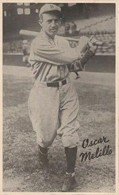 1935 Goudey Premiums R309-2 #13 Oscar Melillo Front