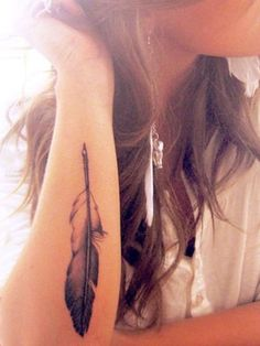 Le tattoo plume - Tatouages