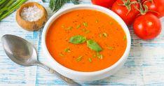Томатный суп пюре классический