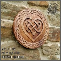 Celtic Heart Knotwork Viking Home Decor Art Norse Thor Odin