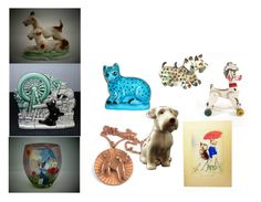 """""""Raining cats and dogs!"""" by howard-lincoln on Polyvore featuring art"""