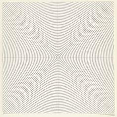 whoa.           ...........Sol LeWitt, Circles, 1973