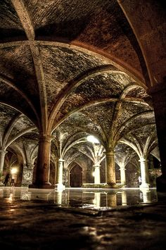 One more reason to visit El Jadidah are these incredible cisterns.  www.sanssoucicollection.com