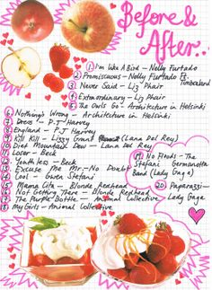 """""""Before & After"""" http://rookiemag.com/2012/04/friday-playlist-before-after/"""