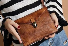 Handmade Leather crossbody purse shoulder bag for women leather clutch Genuine Handmade Vintage Leather Crossbody Bag Shoulder Bag Women Leather Purse Leather Crossbody Bag, Leather Purses, Leather Handbags, Leather Wallet, Small Leather Bag, Leather Totes, Brown Leather, Diy Leather Projects, Leather Craft