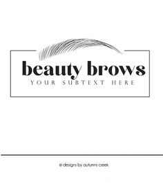Microblading eyebrows tattoo permanent makeup business card eyebrow logo microblading logo logo designs make up logo makeup premade logo brow logo logo colourmoves