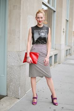 21 Ways to Wear a VintageT-Shirt | StyleCaster