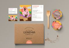 Geremia Tiramisù on Packaging Design Served