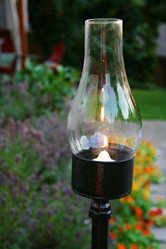 Amazing outdoor DIY lantern...   DIY Crafts and Home Decor