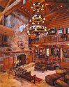 Former Dallas Cowboy Walt Garrison's log home at Lake Texoma, Texas
