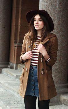front button skirt #10