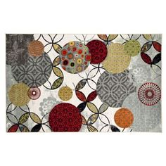 Mohawk® Home Give& Take Abstract Indoor Outdoor Rug