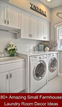80+ Amazing Small Farmhouse Laundry Room Decor Ideas {374423} #laundry #storage #ideas #laundrystorageideas Possessing a cramped, dark, dungeon-like laundry room is no means to do laundry–to possess any likelihood of getting even the smallest quantity of pleasure in this boring job, you are likely to want space, storage, light–and perhaps a few subway… Continue Reading →