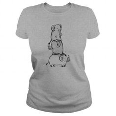 ELEPHANT T Shirts, Hoodies. Get it here ==► https://www.sunfrog.com/Funny/ELEPHANT-Sports-Grey-Ladies.html?41382