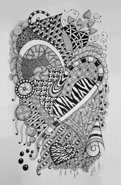 Zentangle 2: Pam's Tangles