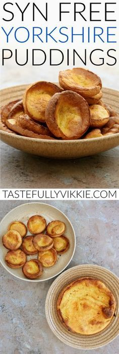 Slimming World Syn Free Yorkshire Puddings - Tastefully Vikkie astuce recette minceur girl world world recipes world snacks Slimming World Dinners, Slimming World Recipes Syn Free, Slimming Eats, Slimming World Gravy, Slimming World Breakfast, Slimming World Smoothies, Slimming World Eating Out, Aldi Slimming World Syns, Slimming World Starters