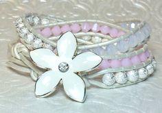 Hey, I found this really awesome Etsy listing at https://www.etsy.com/listing/193636643/swarovski-crystal-triple-wrap-bracelet