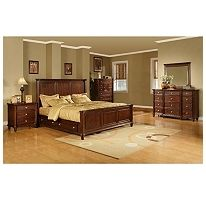 Sams Club   Gavin 5 piece storage bed set....... 4 drawers on bed, 1 nitstand, chest and mirror,chest  $2200.00