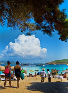 Cala Bassa Beach- Take an 8 Days Tour with us to Ibiza May 27th - June 3rd, 2012